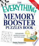 Everything Memory Booster Puzzle Book