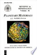 Planetary Materials