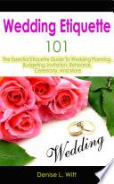 Wedding Etiquette 101 Book PDF