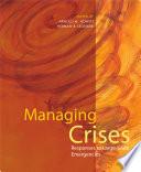 Cover of Managing Crises