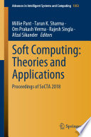 Soft Computing Theories And Applications Book PDF