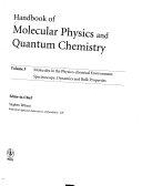 Handbook of Molecular Physics and Quantum Chemistry  3 Volume Set Book