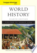 Cengage Advantage Books: World History  , Band 2