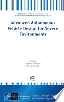 Advanced Autonomous Vehicle Design for Severe Environments Book