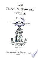 St. Thomas's Hospital Reports