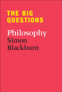 The Big Questions  Philosophy