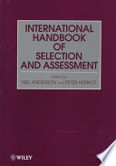 Assessment and Selection in Organizations, International Handbook of Selection and Assessment