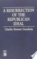 A Resurrection of the Republican Ideal
