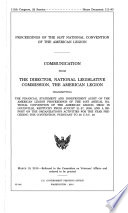 Proceedings of 91st National Convention of the American Legion  August 21 27  2009  111 2 House Document 111 93