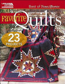 Best of Fons and Porter: Favorite Quilts