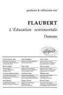 Analyses & réflexions sur Flaubert, L'éducation sentimentale