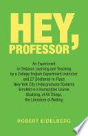 Hey  Professor Book PDF