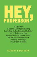 Hey, Professor Pdf/ePub eBook