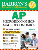 Barron s AP Microeconomics Macroeconomics  6th edition with Bonus Online Tests