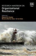 Research Handbook on Organizational Resilience