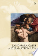 Landmark Cases In Defamation Law