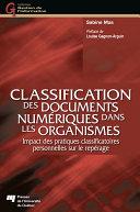 Pdf Classification des documents numériques dans les organismes Telecharger