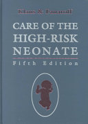 Care of the High risk Neonate Book