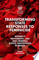Transforming State Responses to Feminicide
