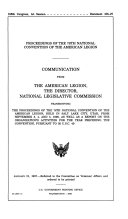 Proceedings of the 78th National Convention of the American Legion ebook