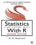 Cover of Statistics (The Easier Way) With R