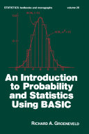 Pdf An Introduction to Probability and Statistics Using Basic Telecharger