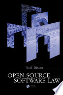 Open Source Software Law Book PDF