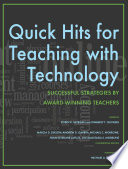 Quick Hits for Teaching with Technology
