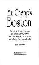 Mr. Cheap's Boston
