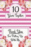10th Anniversary Journal