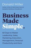 Business Made Simple Pdf/ePub eBook
