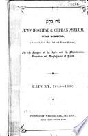 Report - Jews' Hospital & Orphan Asylum