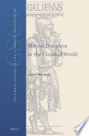 Mental Disorders in the Classical World Pdf/ePub eBook