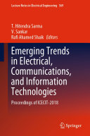Emerging Trends in Electrical, Communications, and Information Technologies Pdf/ePub eBook