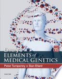 Emery s Elements of Medical Genetics E Book