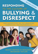 Responding to the Culture of Bullying and Disrespect Pdf/ePub eBook