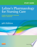 Cover of Study Guide for Lehne's Pharmacology for Nursing Care