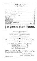 The Common School Teacher