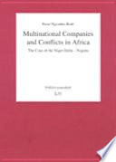 Multinational Companies And Conflicts In Africa
