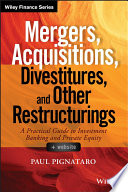 Mergers  Acquisitions  Divestitures  and Other Restructurings    Website Book