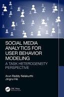 Social Media Analytics for User Behavior Modeling Book