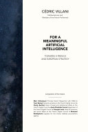 Pdf For a meaningful artificial intelligence Telecharger