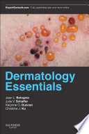 Dermatology Essentials E  Book
