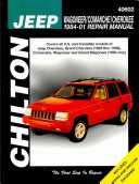 Chilton s Jeep Wagoneer Comanche Cherokee 1984 01 Repair Manual