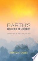 Barth S Doctrine Of Creation