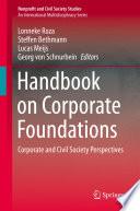 Handbook On Corporate Foundations