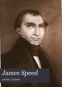 James Speed Book