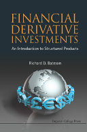 Financial Derivative Investments: An Introduction To Structured Products Pdf/ePub eBook
