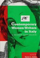 Contemporary Women Writers in Italy