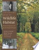 Landowner s Guide to Wildlife Habitat